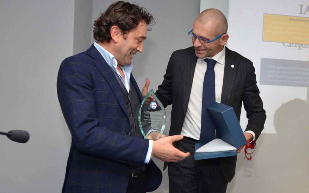 """IATT AWARDS 2017 """"Premio Ricerca & Sviluppo"""" Categoria: Perforazioni Orizzontali Guidate"""