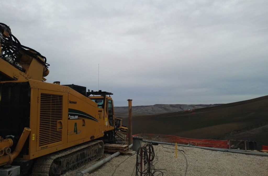 Securing of pressurized steel conduct under a landslide area, Matera, Italy